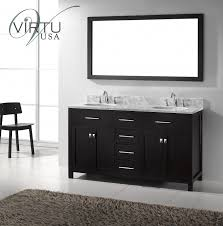 55 inch double sink bathroom vanity:  inch double sink bathroom vanity with lots of storage space