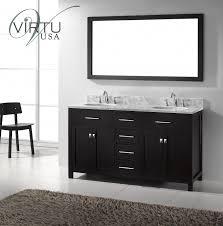 55 inch double sink bathroom vanity:  inch double sink bathroom vanity with lots of storage space