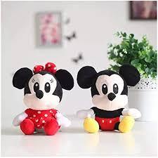 1pcs 25cm New arrival <b>Hot</b> sale Mickey & <b>Minnie</b> Mouse Stuffed ...