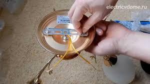 Как собрать <b>люстру</b> часть 2. Соединение проводов в люстре ...