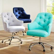 twill tufted desk chair amazing home office chair