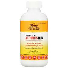 Tiger Balm, <b>Arthritis Rub</b>, <b>без</b> спирта, 4 жидких унций (113 мл ...