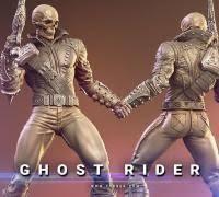 """<b>ghost rider</b> stl file"" 3D Models to Print - yeggi"