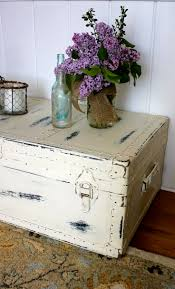 room vintage chest coffee table: really cool idea and could be made to look right in any room or any particular style of decorations also would be a cheap way to get a coffee table and