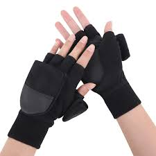 Fishing Gloves Sports & <b>Outdoors</b> FakeFace <b>Winter Outdoor</b> Fishing ...