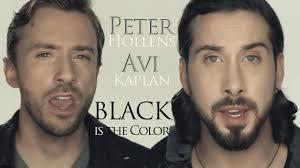 <b>Black Is The</b> Color Of My True Love's Hair - Peter Hollens & Avi ...