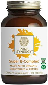 Pure Synergy Super B-Complex (60 Tablets) B ... - Amazon.com