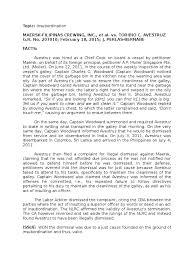 maersk vs avestruz government information