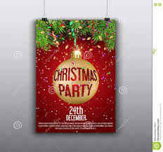 christmas flyer background stock vector image  christmas flyer background