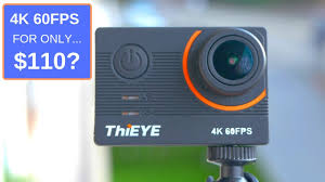 The Cheapest Good 4K 60FPS Action camera: <b>ThiEye T5 Pro</b> ...