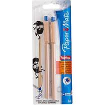 <b>Ручка</b> шариковая стирающаяся <b>Paper mate Replay</b> синяя 2 штуки ...