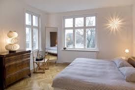 interior designsstunning contemporary bedroom lighting idea with metallic arc stand lamp also white closet best bedroom lighting