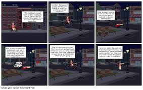 bike safety storyboard by mhirkic