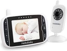 HelloBaby 3.2 Inch Video Baby Monitor with Night ... - Amazon.com