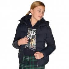 Купить <b>куртку Mayoral</b> детскую Темно-синяя <b>демисезонную</b> ...