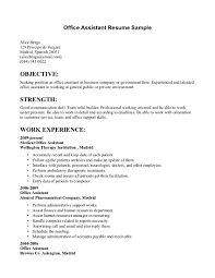 sample resume objective statements for office assistant make resume sample resume objective statements for office assistant make administrative