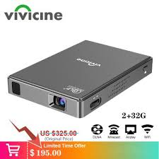 <b>Vivicine</b> T10 Android 7.1 Pico HD Mini Projector is a Cinema at Only ...