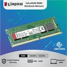 <b>Kingston</b> SODIMM 4GB/<b>8GB</b>/16GB <b>DDR4 2400Mhz</b>/2666Mhz ...