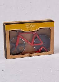 <b>Bike Pizza Cutter</b> (20cm x 14cm x 4cm) – Red | Pizza cutter