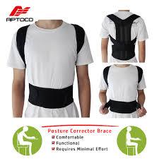 Aptoco <b>Posture</b> Corrector Back <b>Posture</b> Brace Clavicle Support Stop ...