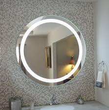 inspiration bathroom lighted mirror wall mount