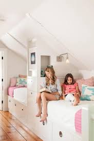 kid room on pinterest slanted ceiling bunk bed and window seats inside girls attic bedroom ideas and tips girls attic bedroom concepts and also tips bedroom decorating ideas pinterest kids beds