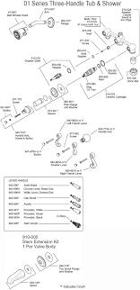 bathroom shower parts savannah shower amp tub parts diagram model  bc