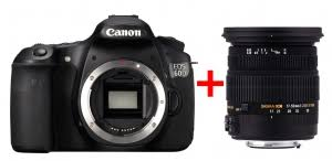 Зеркальный фотоаппарат Canon Комплект EOS 60D + <b>объектив</b> ...