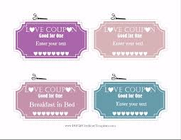 editable love coupons love coupons for him