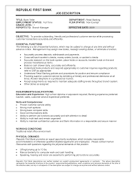 waitress resume job description job and resume template job resume job description skills of a bank teller objective essential job descriptions job descriptions for job