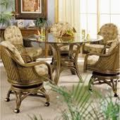rattan dining room set