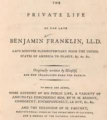 <b>Benjamin Franklin's Autobiography</b>: Finding Franklin, A Resource ...