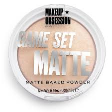<b>Makeup Obsession</b> Game Set Matte - Matte Baked <b>Powder</b> ...