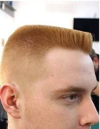 <b>Flat top</b> haircut