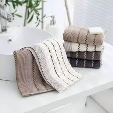FANDA 3Pcs/Set <b>Pure Cotton</b> Face Towel for <b>Adult Thick</b> Towels ...