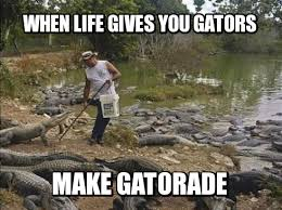 The Weekly Mandatory Meme Contest Winners: Crocodile Lifestyle ... via Relatably.com