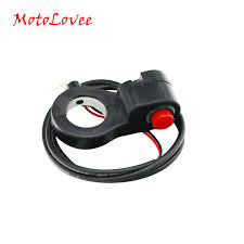 <b>MotoLovee 7/8</b>'' <b>Universal</b> Motorcycle Handlebar Switch Horn Starter ...