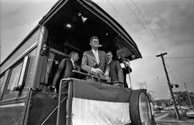 Photos of John F. Kennedy campaigning in Michigan during 1960 ...