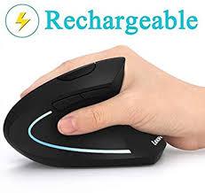 LEKVEY <b>Ergonomic Mouse</b>, Vertical <b>Wireless</b> Mouse ...