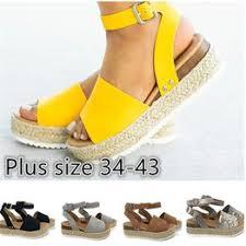Women Summer Platform Wedge Ankle Sandal Shoes ... - Vova