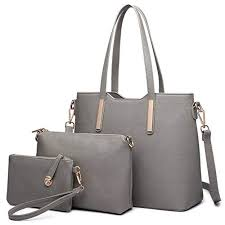 mododiino felmale handbag set thread casual shoulder bag large capacity composite bags for women purses and handbags dnv1182