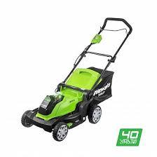 <b>Газонокосилка Greenworks</b> G40LM40 40V 2504707 (40 см ...