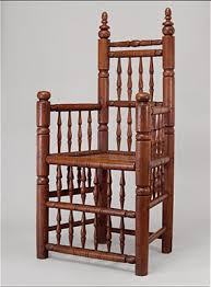 american furniture  the seventeenth century and william  spindle back armchair