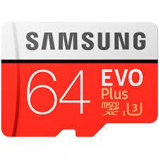 Купить <b>Карта памяти</b> MicroSD <b>Samsung 64GB</b> Evo Plus (MB ...