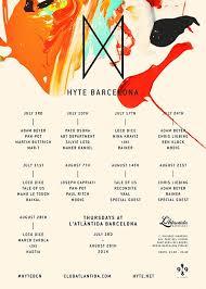 Joseph Capriati // Pan-Pot // Paul Ritch // Modig. HYTE BARCELONA THURSDAYS @ L'ATLÀNTIDA BARCELONA [JULY 3rd TILL AUGUST 28th 2014] - es-0707-611403-front