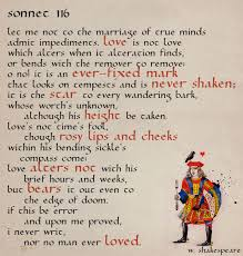 love it is an ever fixed mark sonnet by william shakespeare love it is an ever fixed mark sonnet by william shakespeare poetry it is william shakespeare and love
