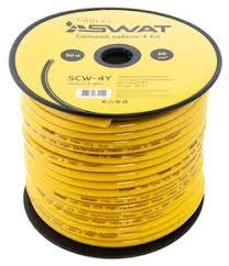 <b>SWAT SCW-4Y Силовой кабель</b> 4Ga