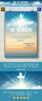 he is risen template for church flyer poster by mari pazhyna he is risen template for church flyer poster church flyers