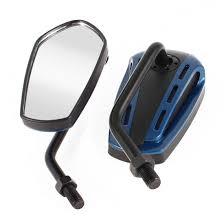 Unique Bargains <b>2pcs</b> Blue <b>Angle Adjustable</b> Rearview Mirror for ...