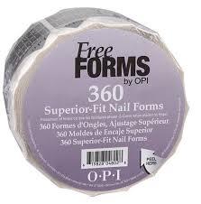 <b>OPI</b> Формы одноразовые для ногтей / FreeForms 360 шт купить в ...